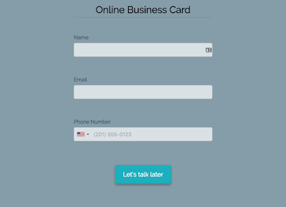 Online Business Card